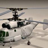 Russian Ka-27 Helicopter Anti Submarine
