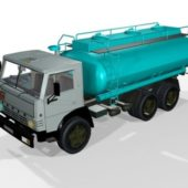 Vehicle Kamaz Tanker Truck