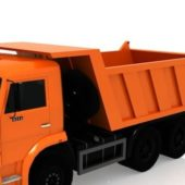 Kamaz Dump Industrial Truck