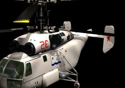 Military Kamov Ka-27 Helix Military Helicopter