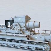 German Great Weapon Karl Siege Artillery