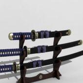 Katana Japanese Swords Set