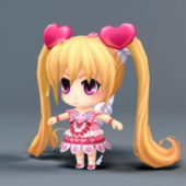 Kawaii Chibi Girl Character