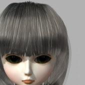 Doll Girl Head