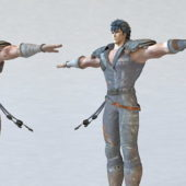 Kenshiro Fighter Game Character