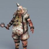 Zombie Bloat Character Design