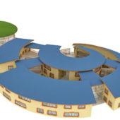 Kindergarten Building Architecture