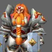 King Magni Bronzebeard Game Character