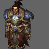 King Varian Wrynn Game Character