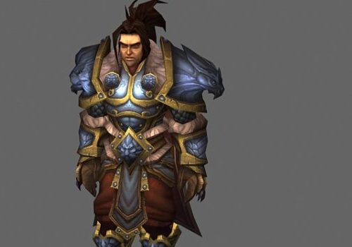 King Varian Wrynn Game Character