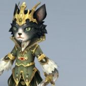 King Of Cat Game Character