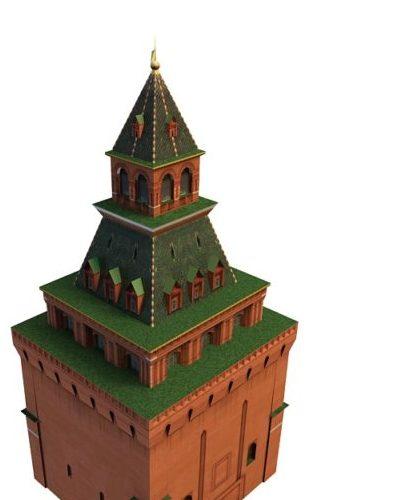 Moscow Konstantino Eleninsky Tower