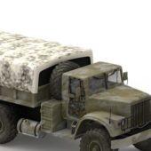 Kraz Military Truck