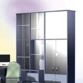 Furniture L-shaped Office Wall Unit