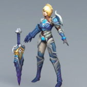Lol Riven Warrior Character
