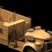 Military Lrdg Armed Patrol Truck