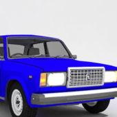 Vintage Lada Riva Car