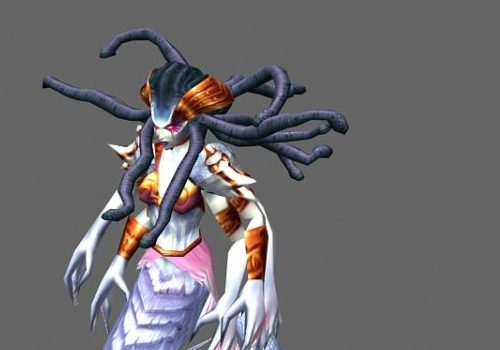 Lady Vashj Game Character