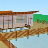 Architecture Lakeside Pavilion Building