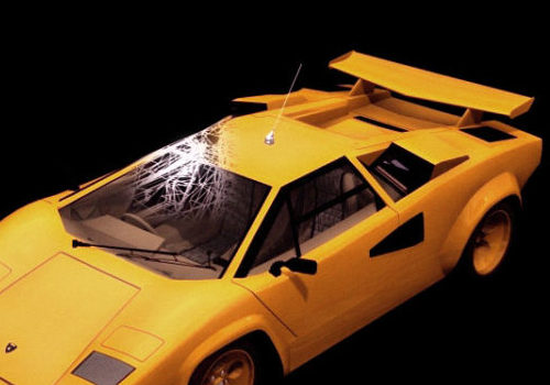 Car Lamborghini Countach Coupe