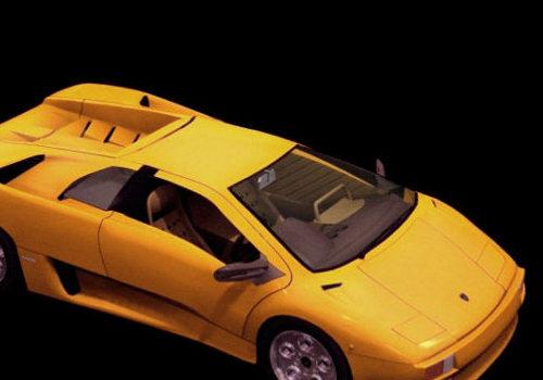 Lamborghini Diablo Roadster Car