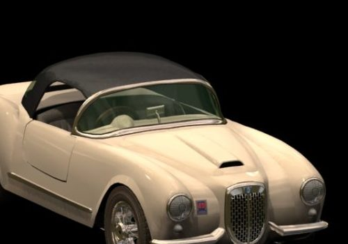 Lancia Aurelia Convertible Car
