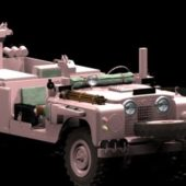 Military Land Rover Pink Panther
