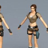 Lara Croft Game Character