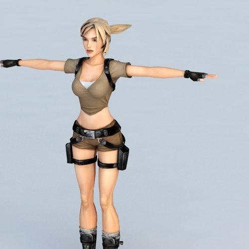 Lara Croft Tomb Raider Character