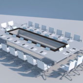 Office Large Conference Table