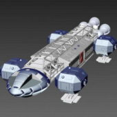 Sci-fi Ship Station Spaceship