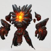 Lava Character