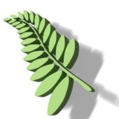 Low Poly Leaf Arrangement