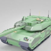 Leclerc Battle Tank