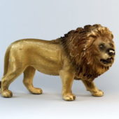 Animal Lion Figurine