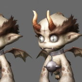 Gaming Little Evil Monsters Character