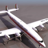 Lockheed L-749 Constellation Airliner Plane