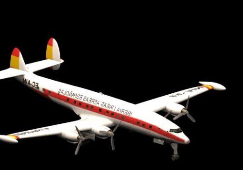 Lockheed Super Constellation Airliner