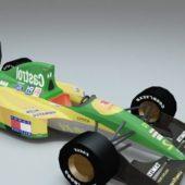 Lotus 107 Ford Tamiya Race Car