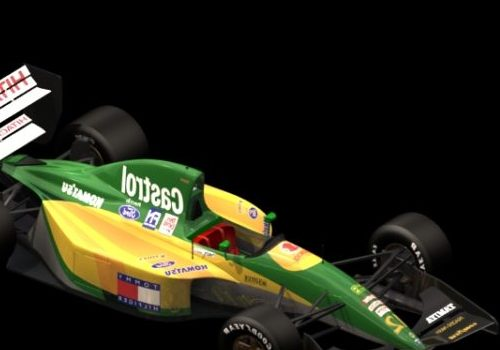 Lotus 107 Racing Car Vehicle