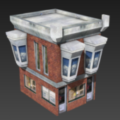 Lowpoly House Building