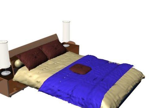 Luxury Big Bed Furniture