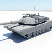 Usa Tank M1 Abrams Model