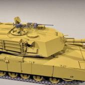 Us M1 Abrams Tank V1