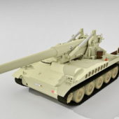 Military M110 Tank Self Propelled Artillery