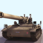 Military M110 Self-propelled Howitzer