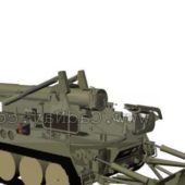 Military M110a2 Self-propelled Howitzer