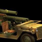 Military M151a2 Tow Missile Launcher