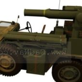 Military M15a2 Anti-tank Missile Vehicle