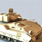 Military M2 Bradley Fighting Vehicle